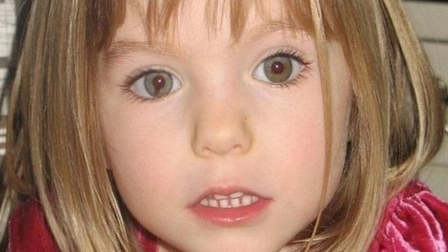 Madeleine McCann at 3 when she went missing in 2007