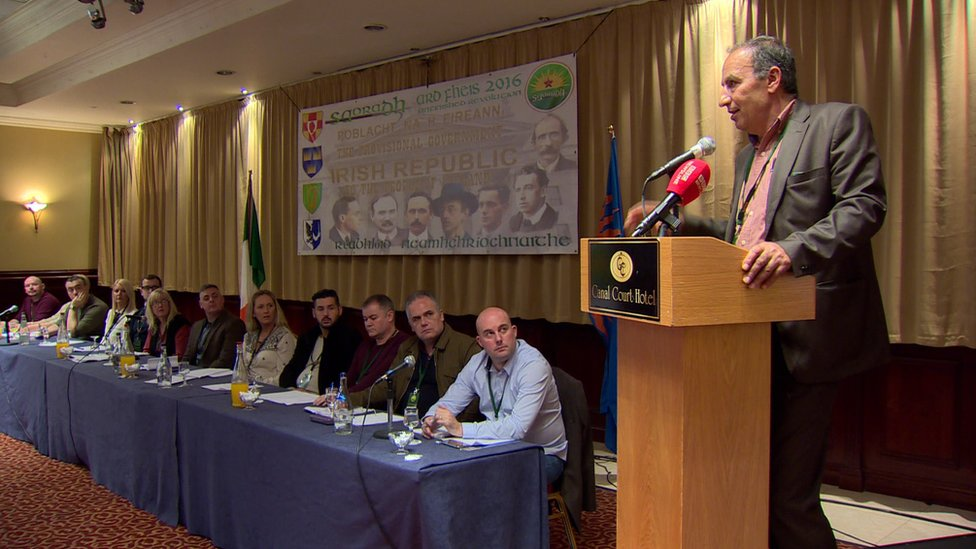 Saoradh held its first Ard Fheis in Newry in 2016