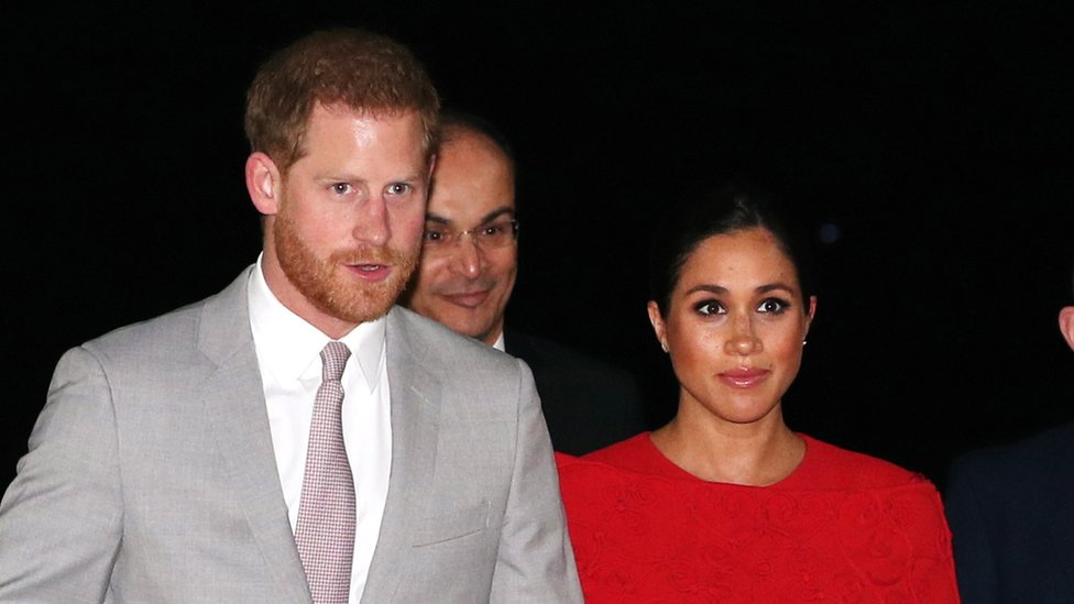 Duke and Duchess of Sussex: Harry and Meghan arrive in Morocco