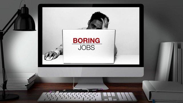 boring jobs graphic