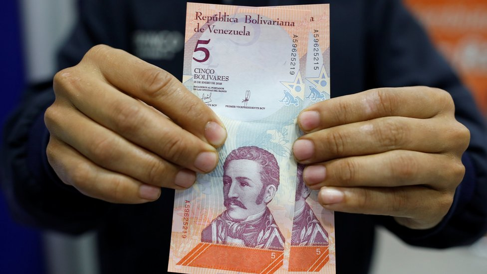 New Venezuelan currency