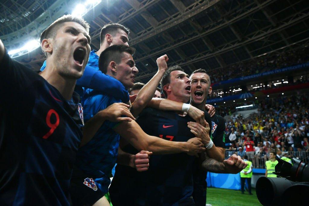 Croacia no sintió el desgaste de haber disputado tres prórrogas para clasificar a la primera final de su historia.