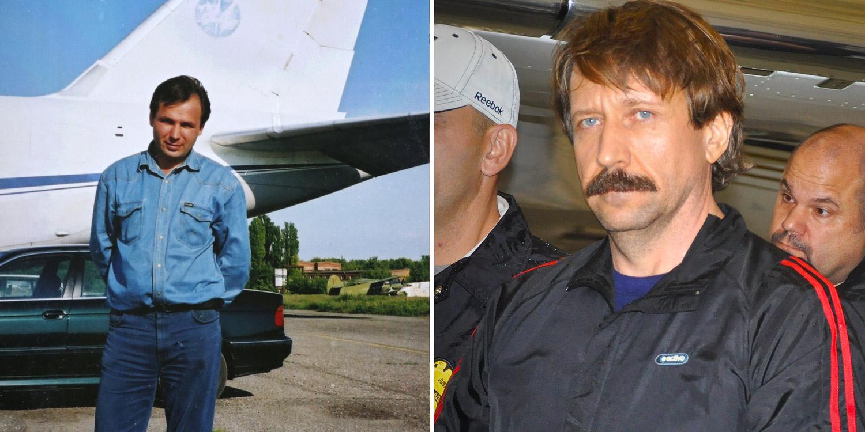 Nedatirana fotografija Konstantina Jarošenka (levo) i Viktora Bouta iz 2010. godine