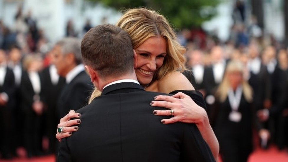 Julia Roberts and Jack O'Connell