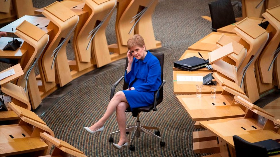 First Minister Nicola Sturgeon confirms Moray to stay at level one