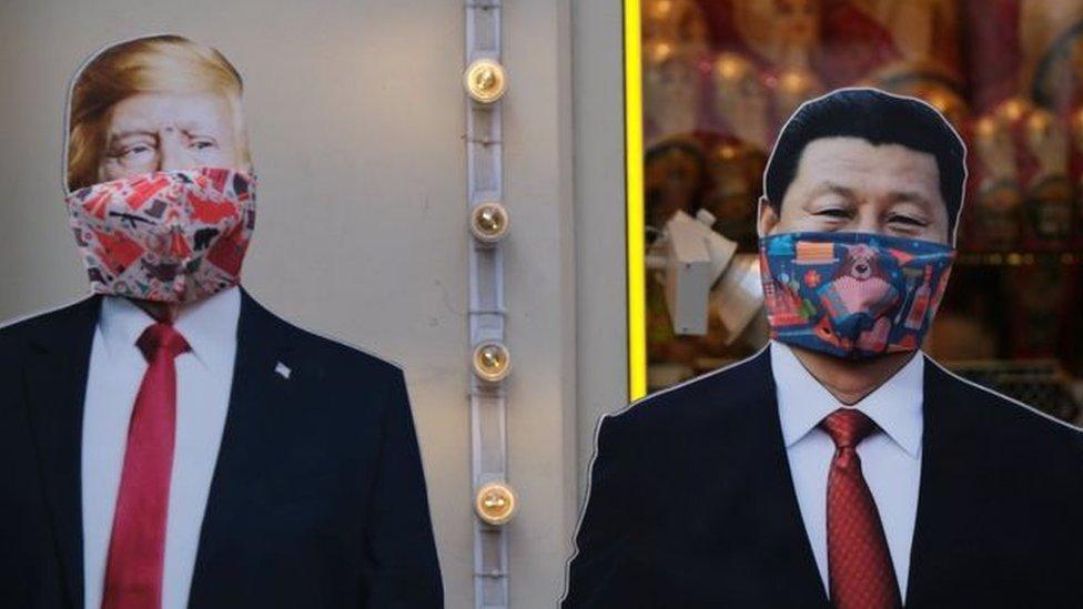 أدت أزمة فيروس كورونا الى تدهور العلاقات بين الصين والولايات المتحدة