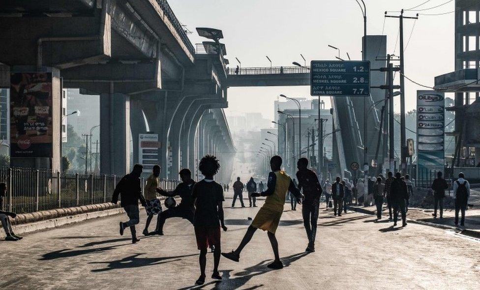 Adis Abeba Dan bez automobila