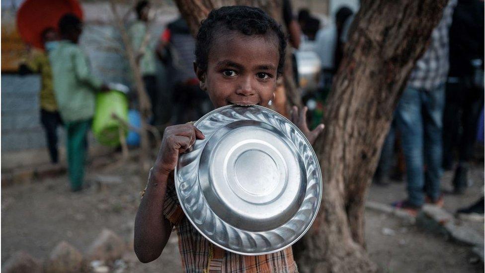 طفل إثيوبي