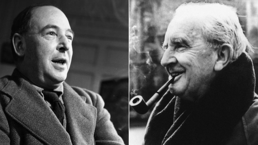 CS Lewis and JRR Tolkien