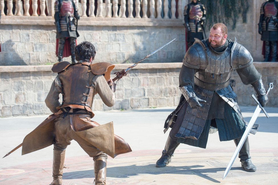 Scene from Game Of Throne