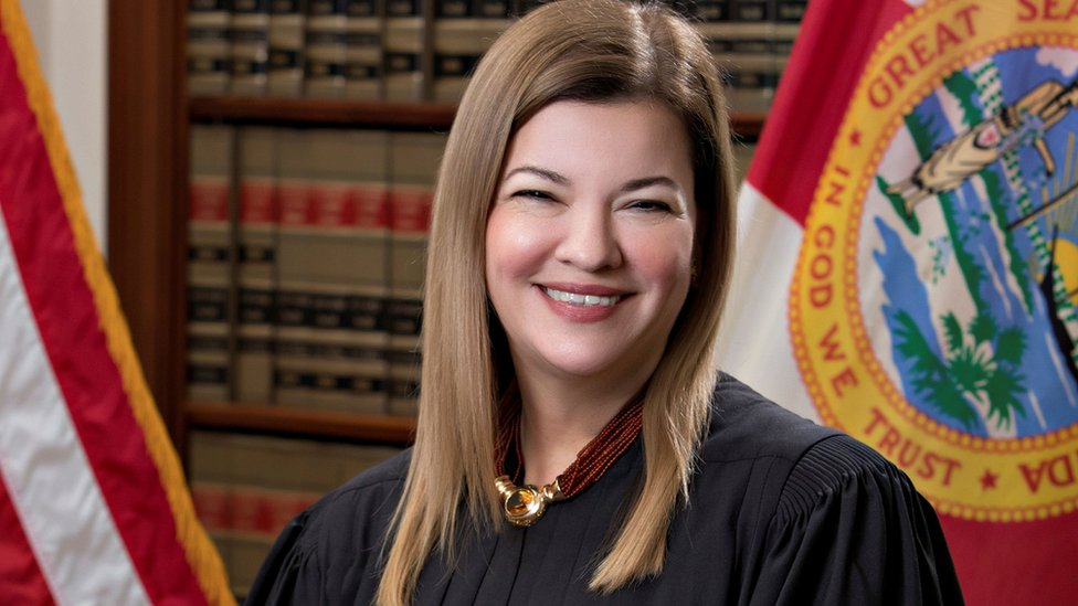 Florida Supreme Court Justice Barbara Lagoa, currently a United States Circuit Judge of the United States Court of Appeals for the Eleventh Circuit