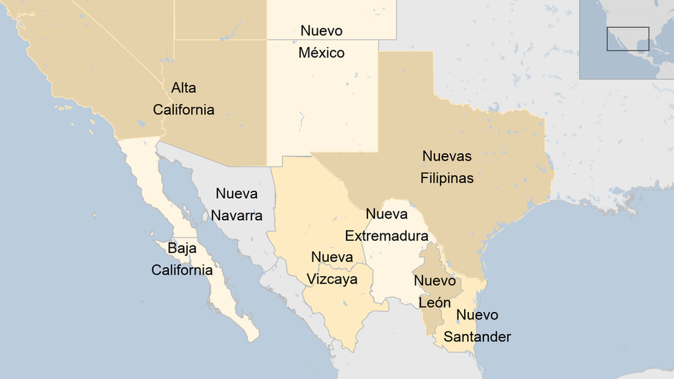 Nueva España norte
