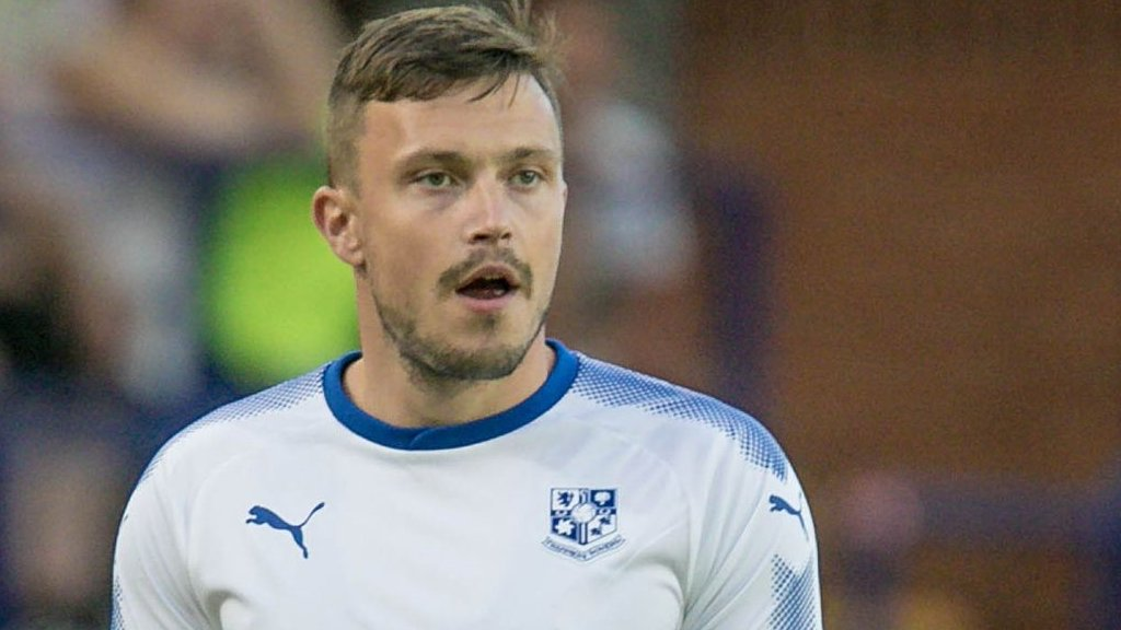 Andy Mangan: Tranmere Rovers striker among seven released