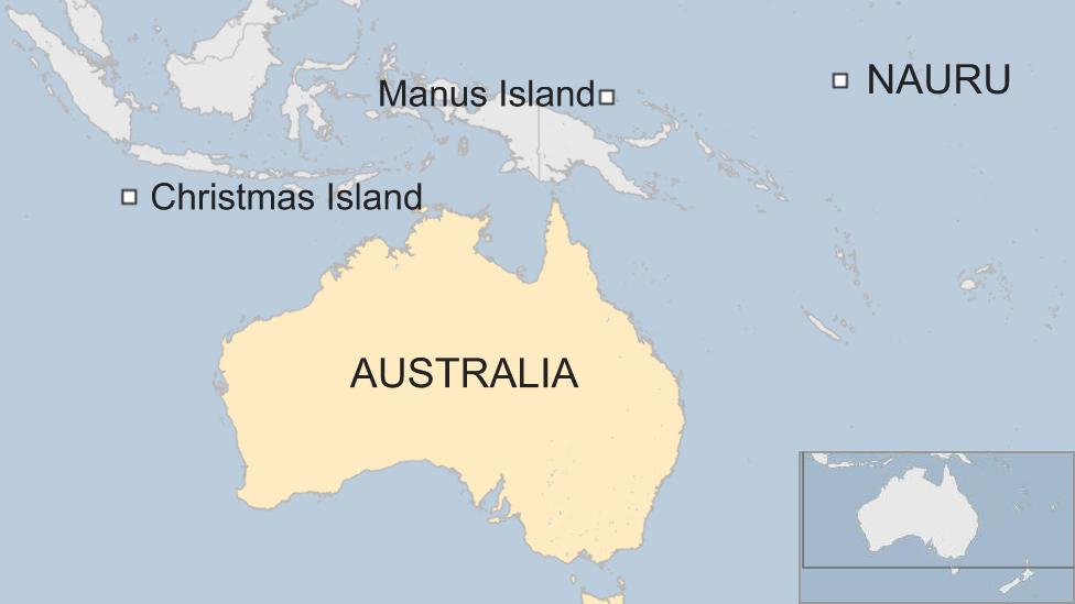 Manus map