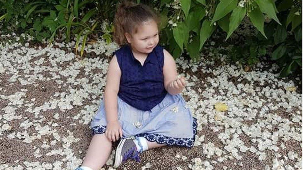 Sophia Gibson: Cannabis oil wait girl admitted to hospital