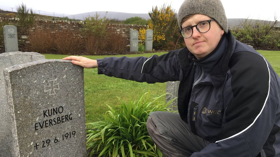 WW1 German grave mistakes corrected in Orkney cemetery