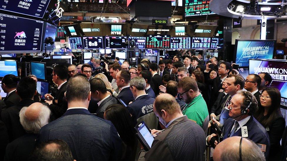 Photo of the New York stock exchange