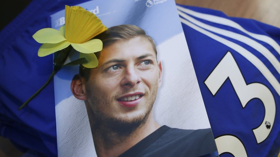 A Cardiff tribute to Emiliano Sala
