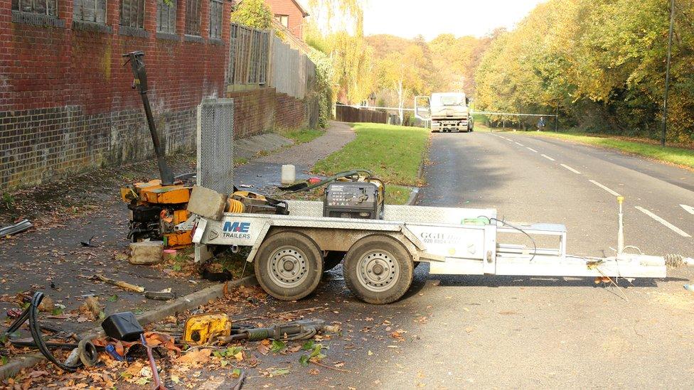 Crawley bus stop: Drug-driving arrest after detached trailer injures pedestrians