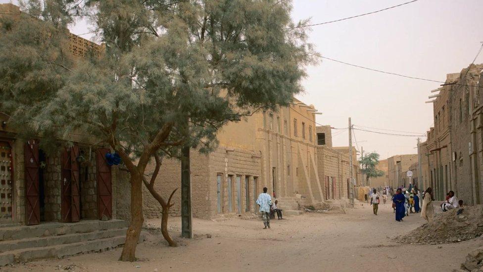 شارع من مدينة تمبكتو