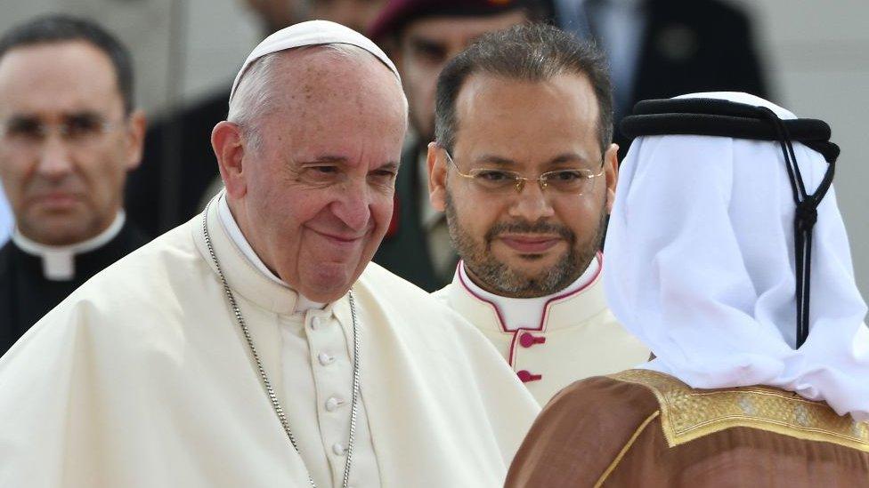 البابا فرنسيس في الإمارات