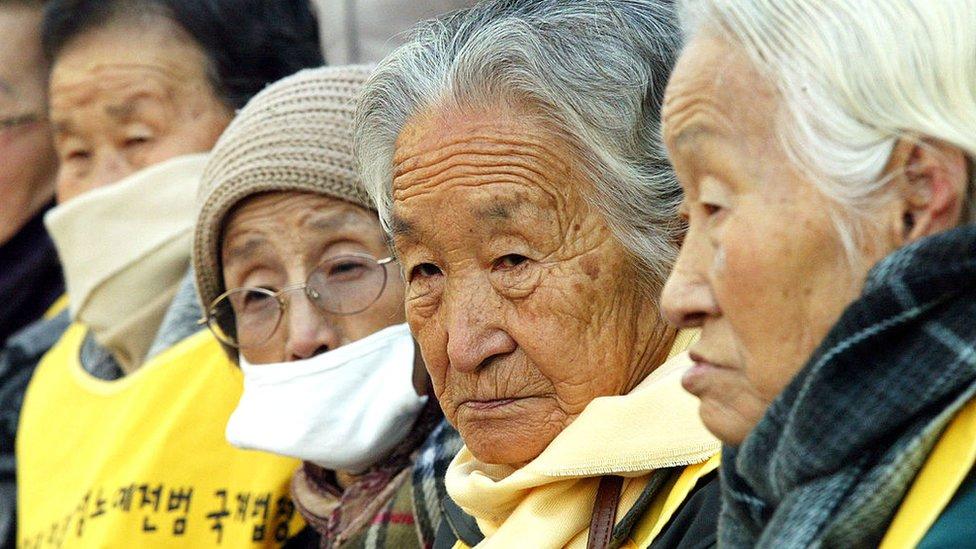 De las mujeres surcoreanas que fueron convertidas en esclavas sexuales del Ejército nipón solamente quedan vivas menos de 50.