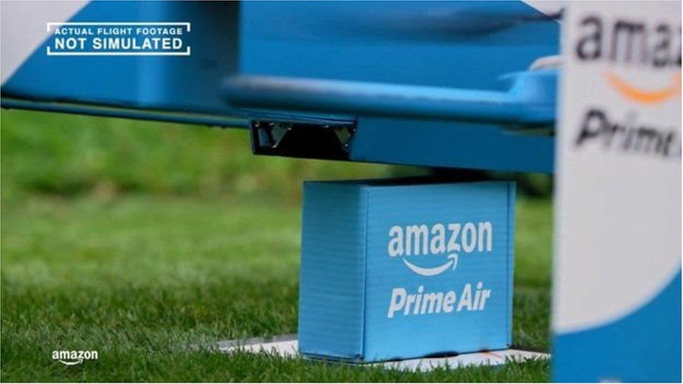 Amazon's delivery drones