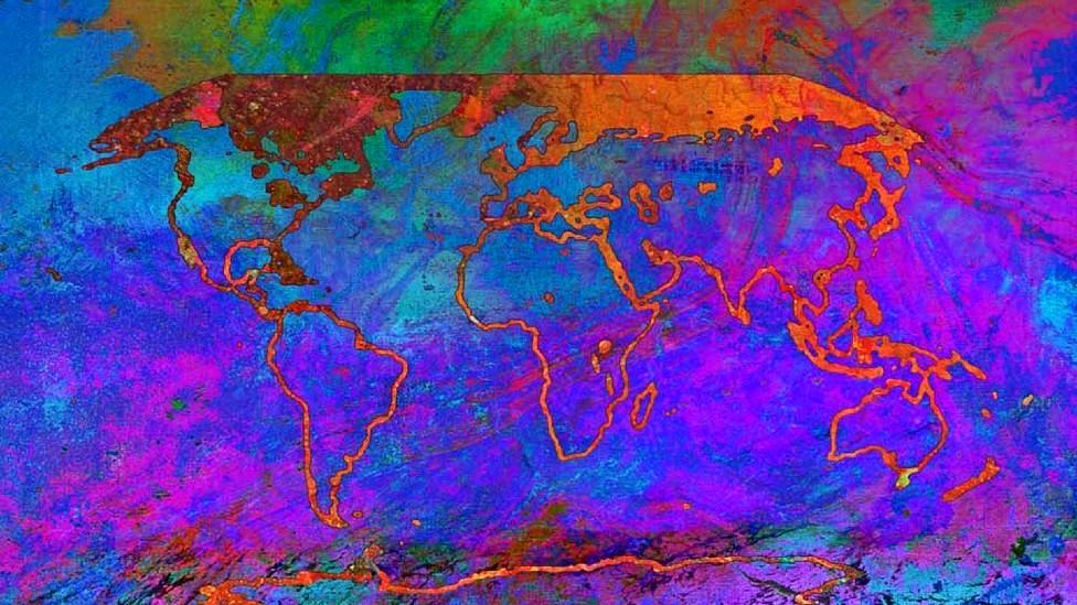 """Obra titulada """"Cambiando"""" de la artista Alisa Singer, usada por el IPCC en su nuevo informe"""