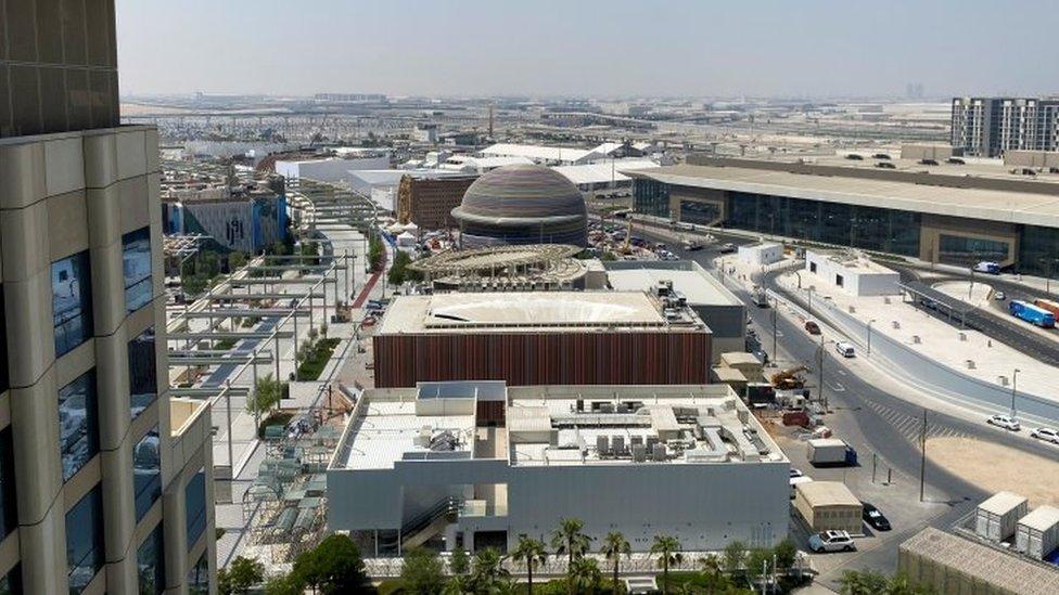 موقع إكسبو 2020 في دبي، الإمارات العربية المتحدة