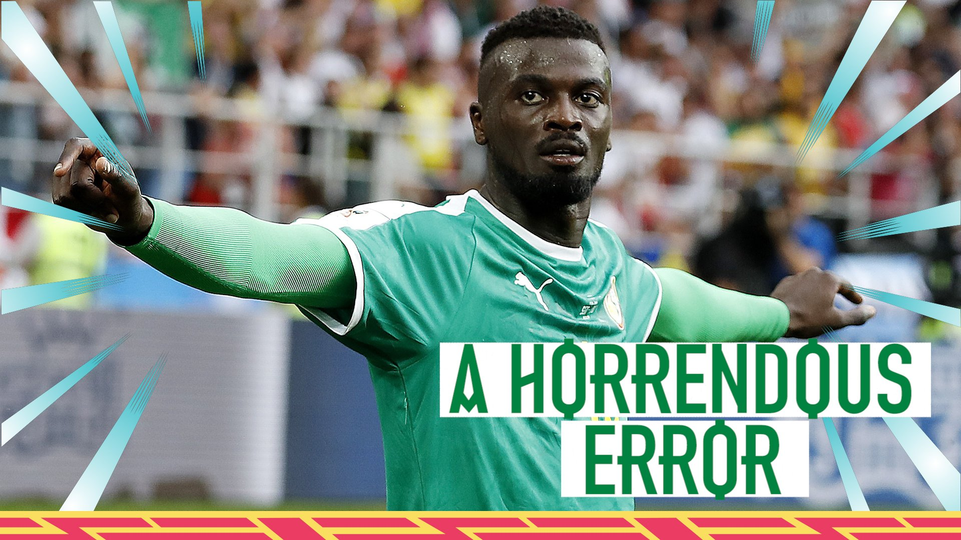 Watch: Horrendous error or perfect plan for Senegal goal?