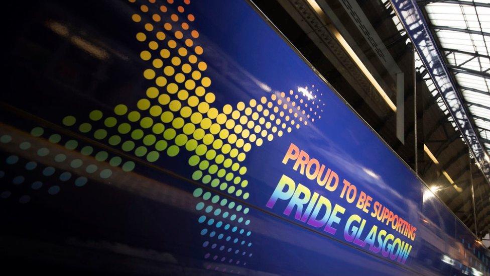 ScotRail Pride train