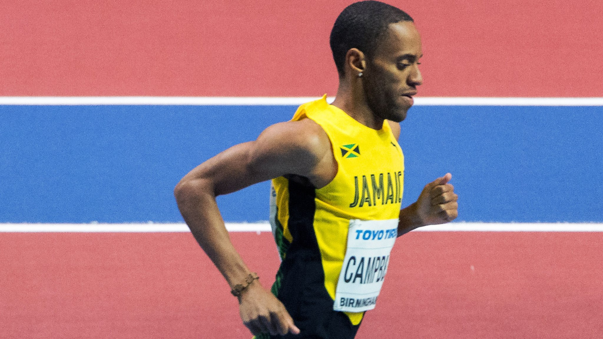 Kemoy Campbell: Jamaican athlete who collapsed told he had died on the track
