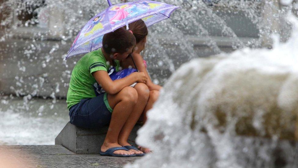 Deca nađu način da se izbore sa toplotom