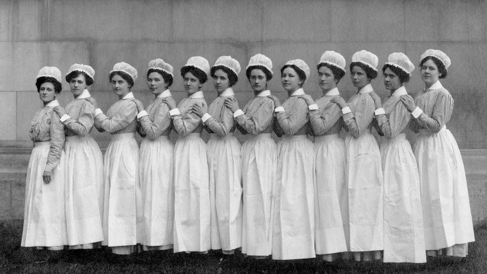 Enfermeras del Hospital Bellevue