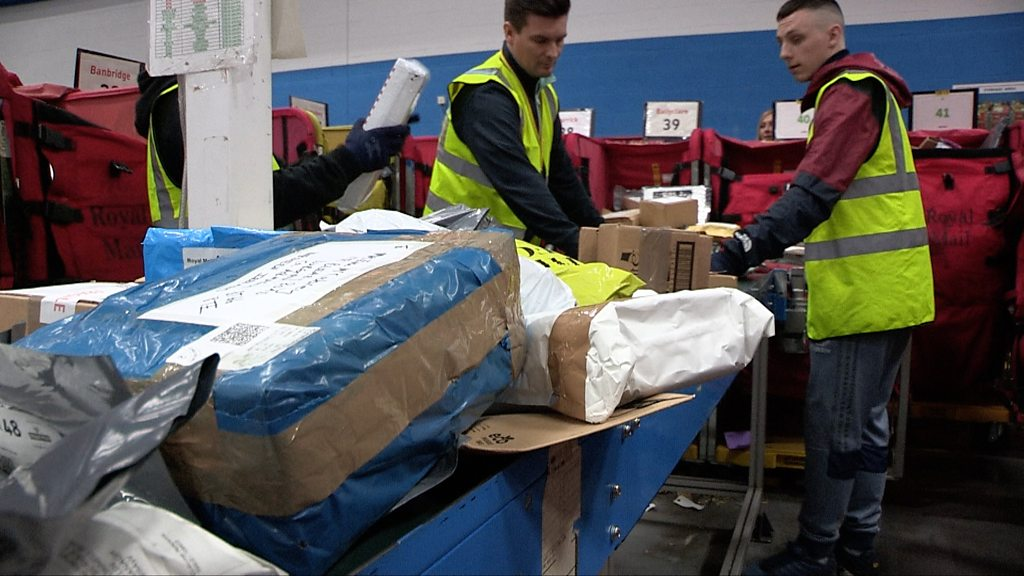 Busiest Day of the year for Royal Mail