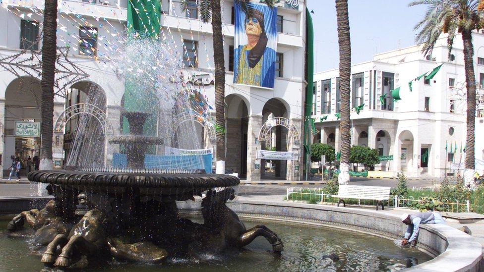 Libyan street scene