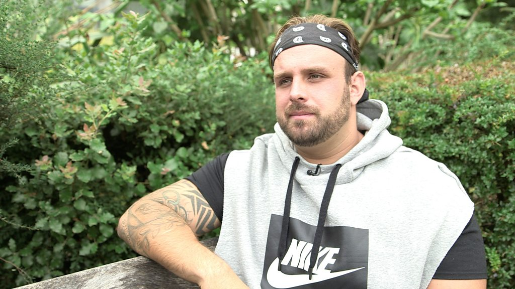 Aled Sion Davies: 'The first year my disability has held me back'