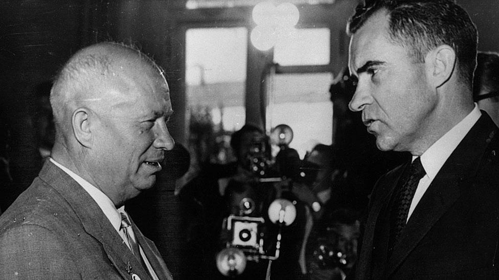 Jruschov y Nixon