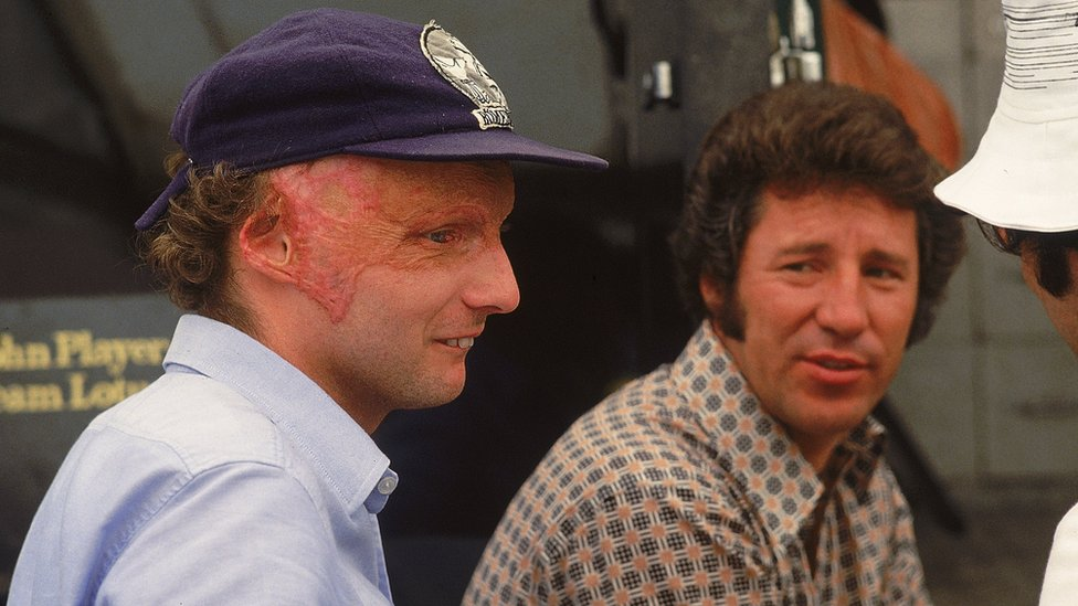 Niki Lauda i Mario Andreti