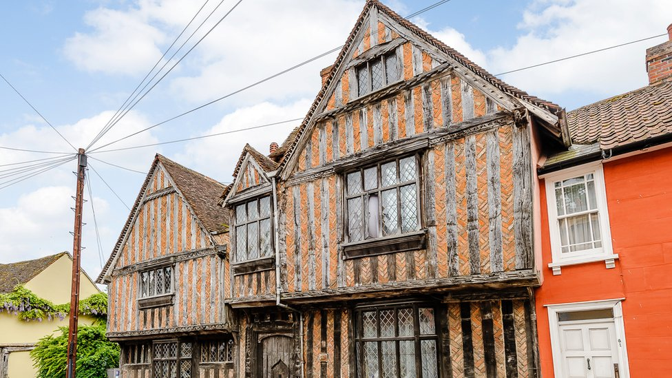 Harry Potter's birthplace in Lavenham still for sale