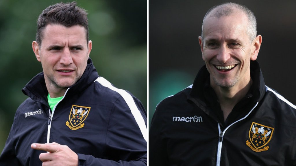 Northampton Saints: Alan Dickens and Phil Dowson complete coaching team