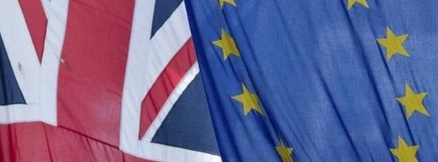 Baneri Prydain a'r UE