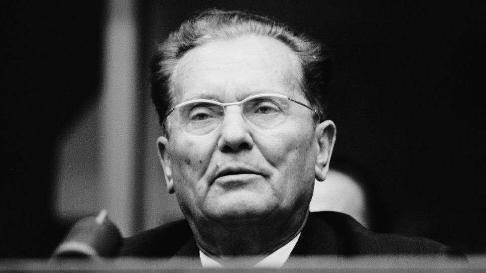 Josip Broz Tito en 1960.