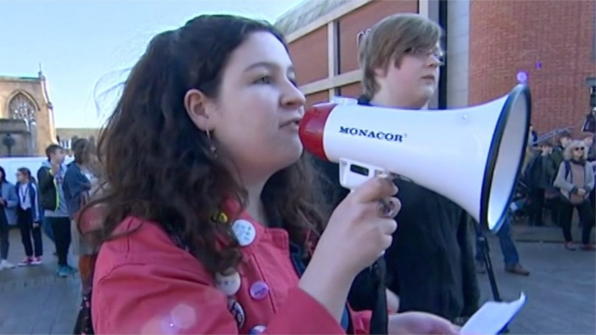 Cambridge and Norwich pupils in 'save our world' demonstrations