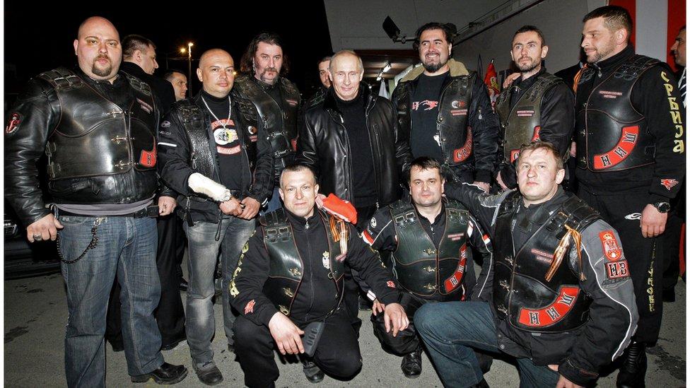 """Putin i niški ogranak """"Noćnih vukova"""""""