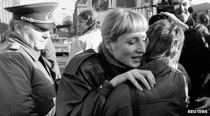 pad berlinskog zida i spajanje ljudi