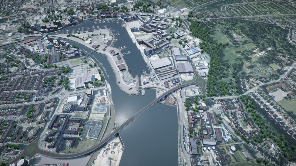 Upper Orwell Crossing: Ipswich bridge plan scrapped after £8m spent