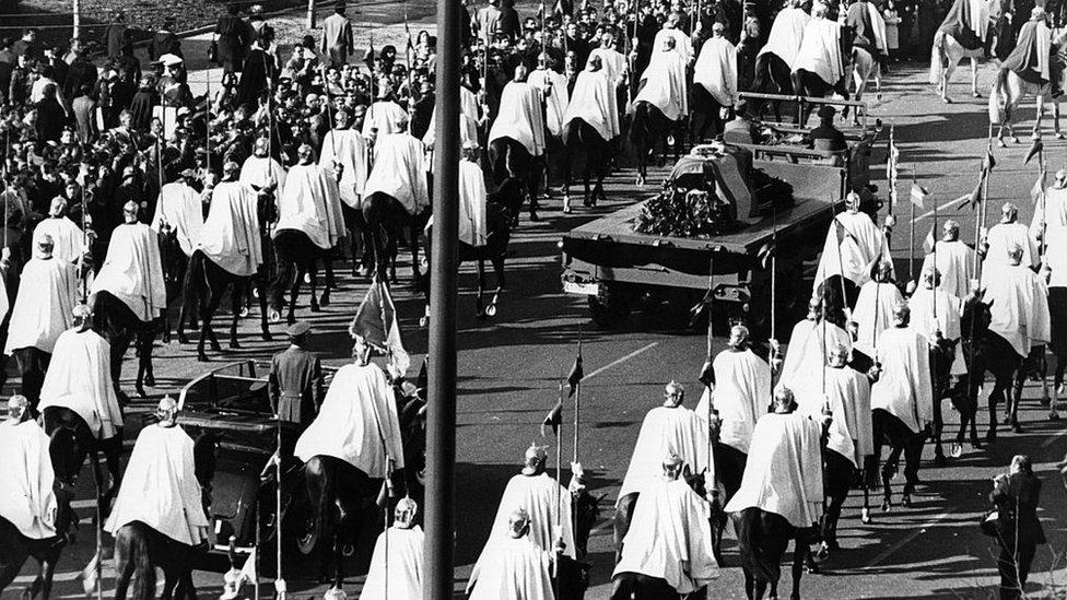 funeral de Franco