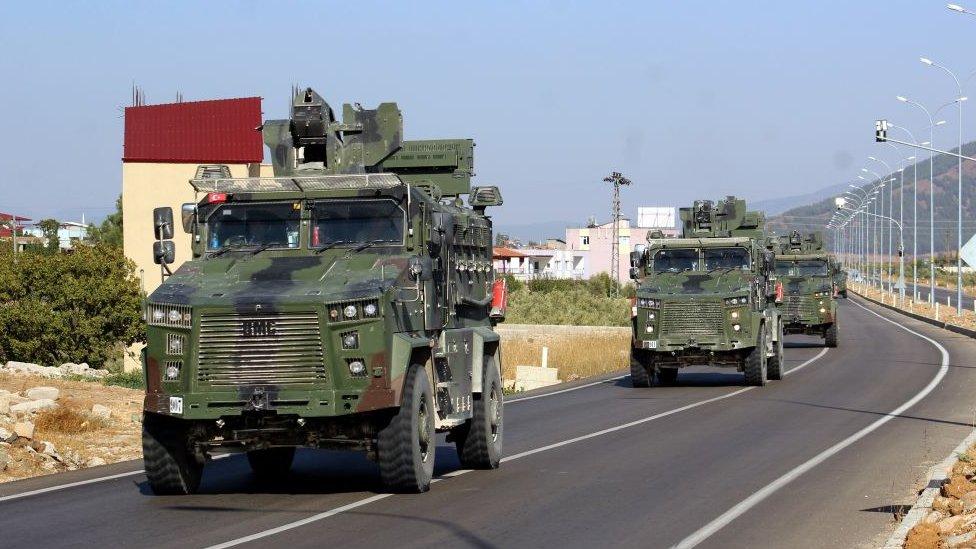 Туреччина почала військову операцію проти курдів у Сирії