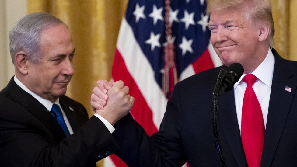 كان رئيس الوزراء الإسرائيلي بنيامين نتنياهو من أبرز حلفاء دونالد ترامب